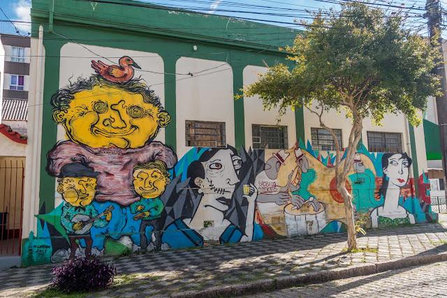 grafite Samba do Sindicatis