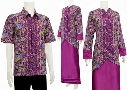 Gambar Model Baju Batik Muslim Cantik dan Sederhana