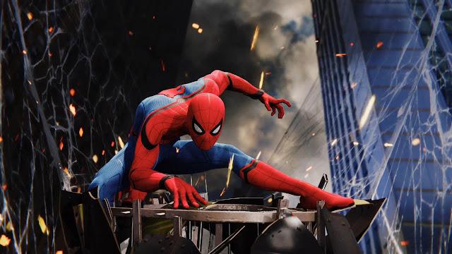 شاهد بالصور كيف ضحت سوني بحافلة من أجل الإحتفال بإطلاق لعبة Spider-Man ، لنشاهد من هنا ..