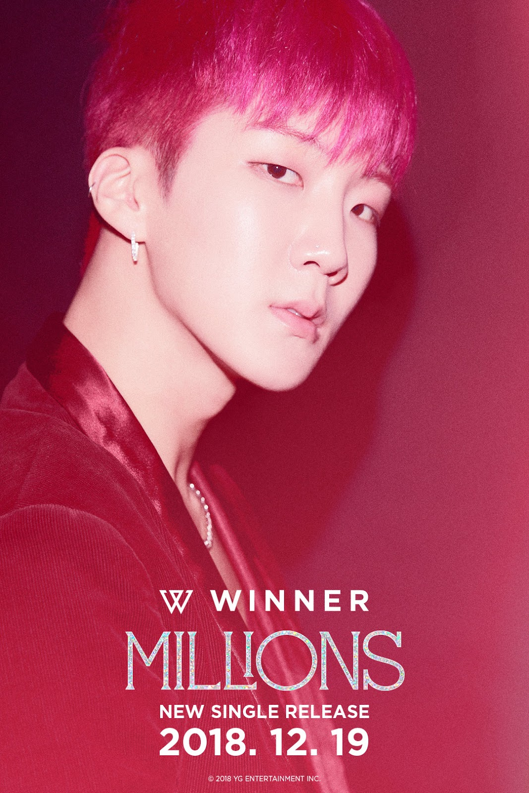 WINNER 'MILLIONS' TEASER POSTER : ALL MEMBERS
