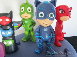 birthday cake PJ Masks