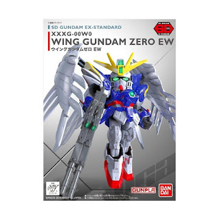 Bandai Gundam SD EX-Standard 004 Zero EW 02754 Model Kit