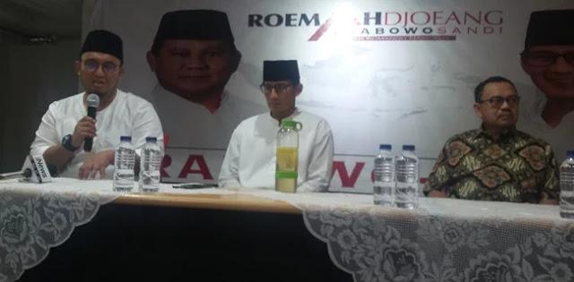 Sandi dan Sudirman Said Hadiri Deklarasi Dukungan Ketum Pemuda Muhammadiyah
