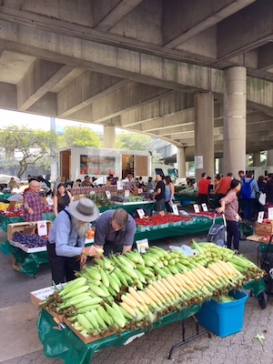Roosevelt Island Saturday Farmers Market At Motorgate Plaza Under The Helix