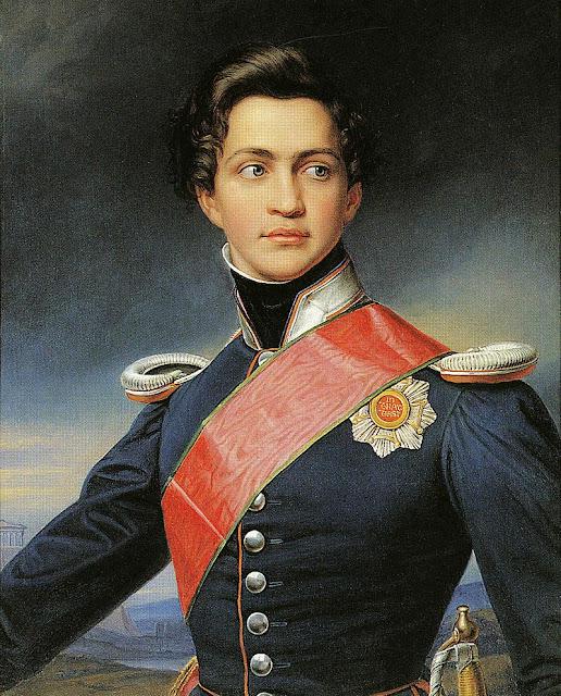 Prince Otto of Bavaria. First King of modern Greece  Joseph Stieler
