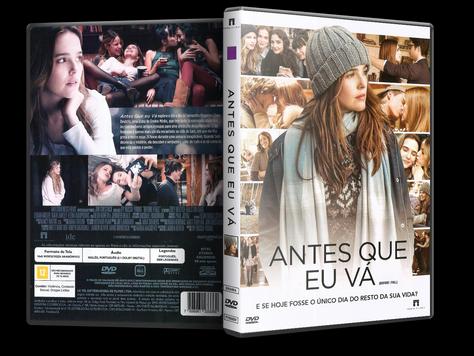 Capa DVD Antes Que Eu Vá