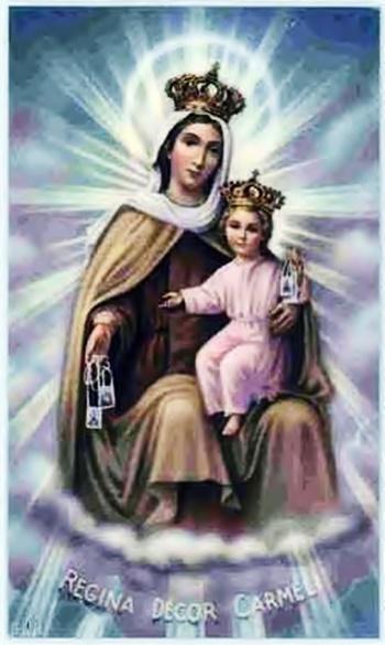 Santisima Virgen Del Carmen