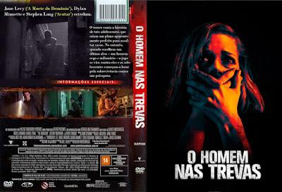 Filme O Homem nas Trevas (Don't Breathe) DVD Capa