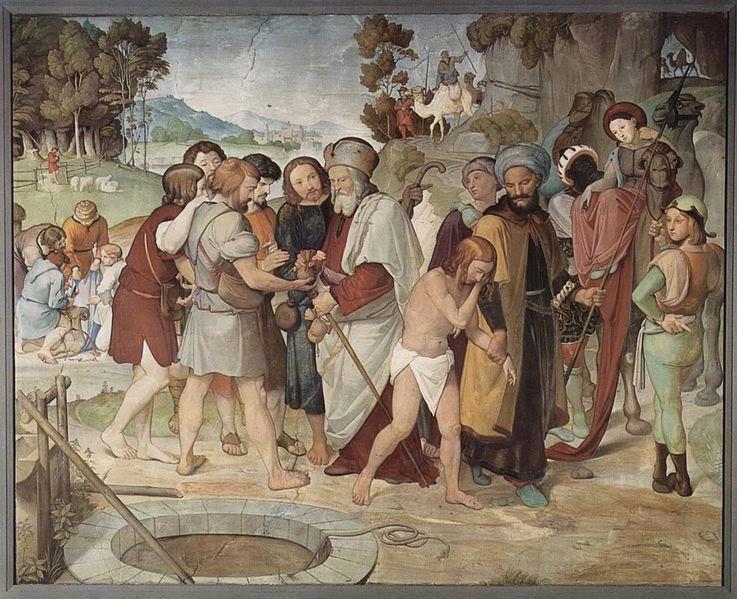 Friedrich Overbeck Venta de José a los egipcios