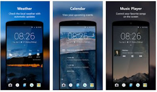 android lock screen widgets