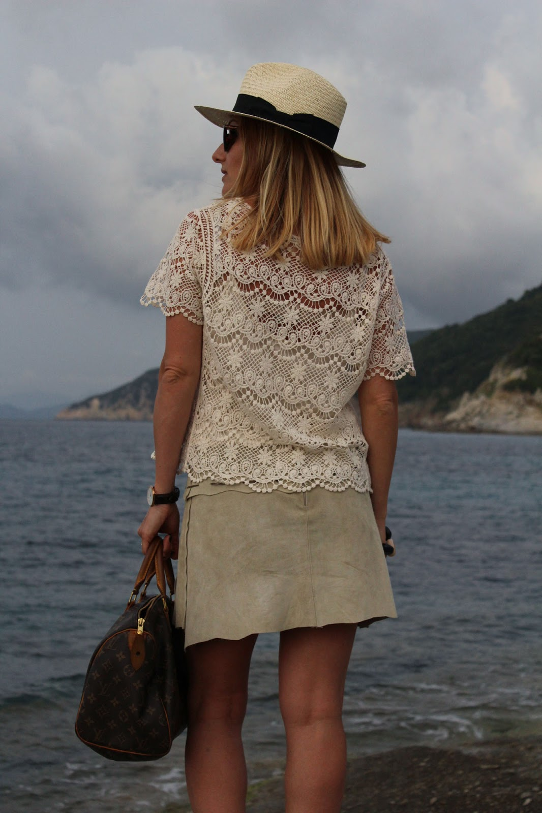 Eniwhere Fashion - Boho chic outfit - Isola d'Elba - Sant'Andrea