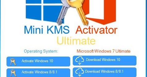 kms activator windows 7 ultimate