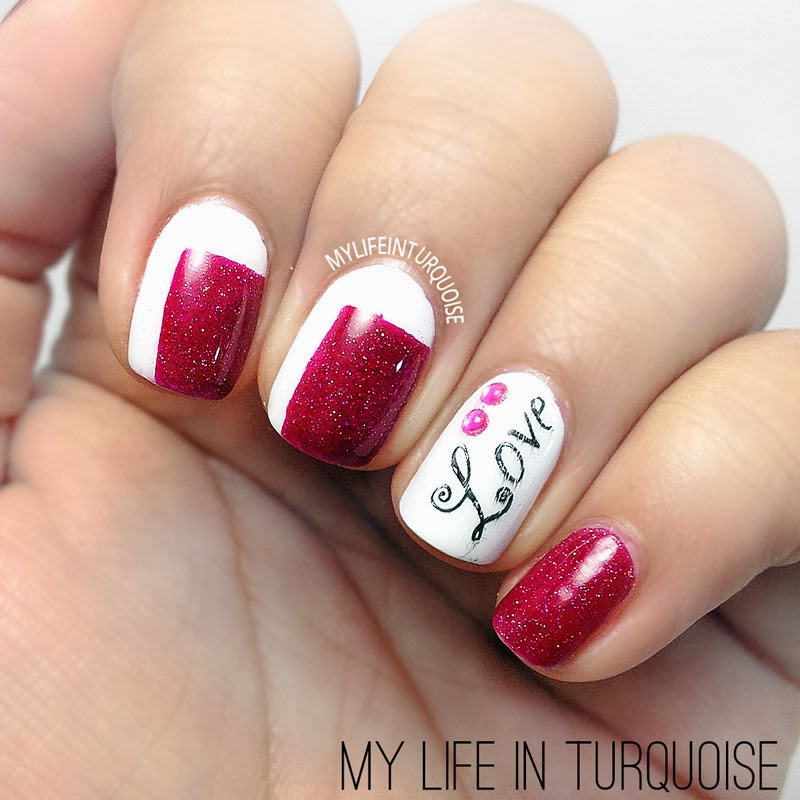 Love-and-Squares-Nail-Art