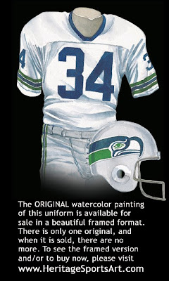 Seattle Seahawks 1982 uniform