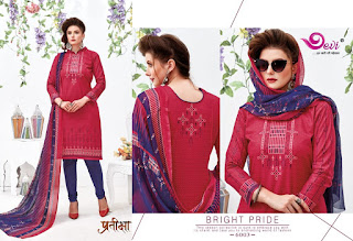 Devi Pratiksha vol 6 cotton dress material