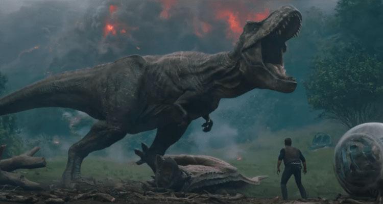 Jurassic World El Reino Caido 2º Tráiler En Español Estreno 8 6 2018 De Fan A Fan