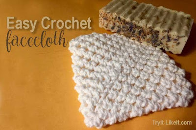 crochet facecloth