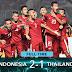 Piala AFF 2016 Hasil Akhir, Indonesia Menang 2-1 atas Thailand