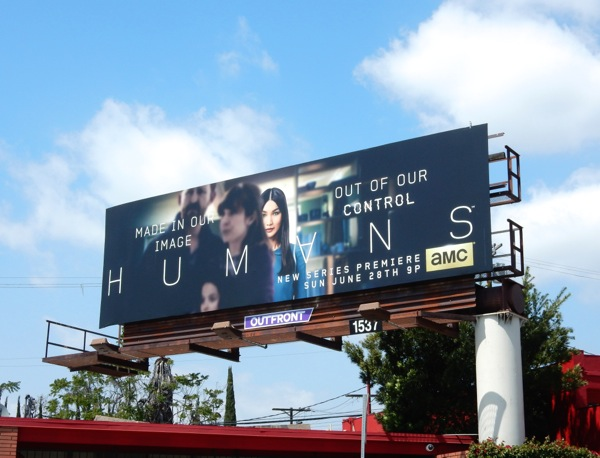 Humans series premiere billboard