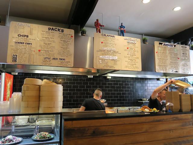 Jacky Jones kitchen, St Kilda's beach, Melbourne