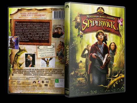 Capa DVD As Crônicas de Spiderwick