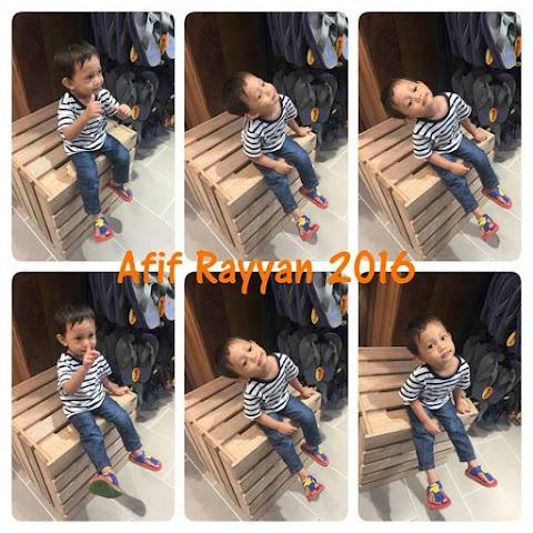 Adik Rayyan Dah 2 tahun dan Abang Aus Nak Masuk 5 Tahun