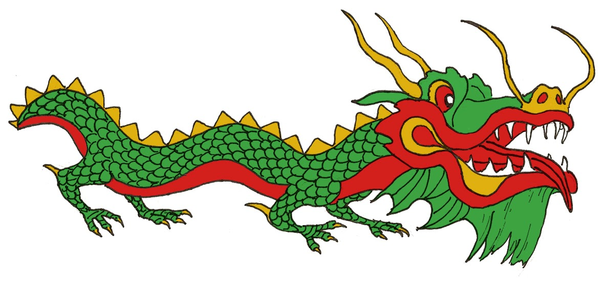 Dessin Tete De Dragon