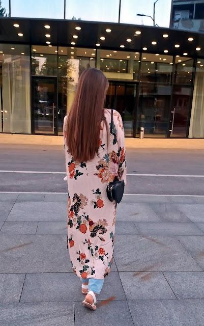 Floral Print Kimono - FAIRY NONA