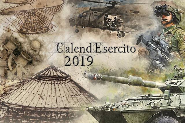 Premiato Calendario Esercito 2019