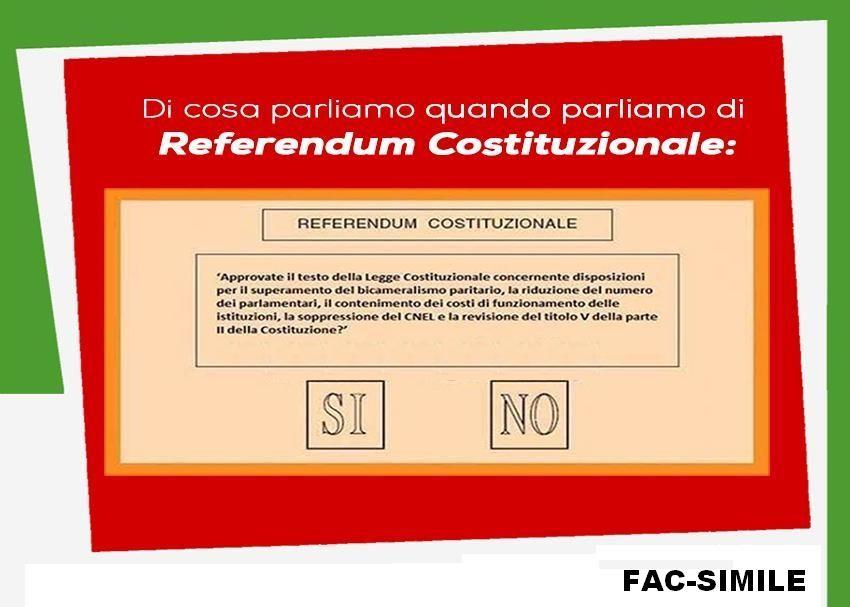 Referendum 4di6 cerchiamo di toglierci for Numero senatori e deputati