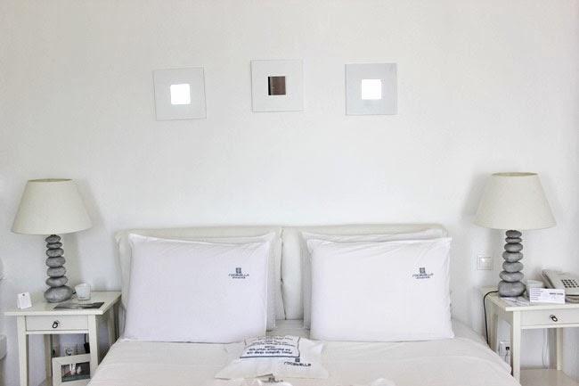 Rocabella Hotel Honeymoon suite bedroom