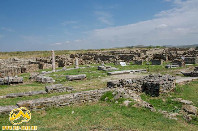 Via Sacra #Stobi Archaeological site #Macedonia