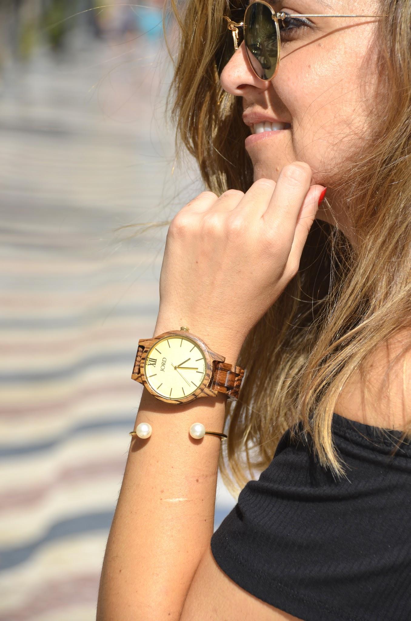 women wrist wood watch jord wood