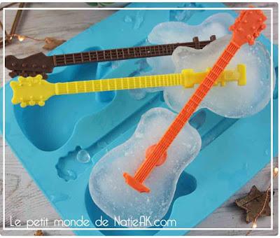 moules à glaçon guitare  Coolgift