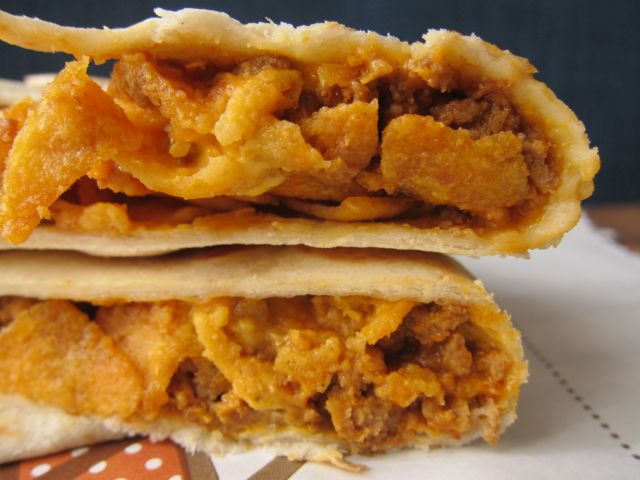 Taco Bell Nacho Wrap Review: Taco Bell - Sp...