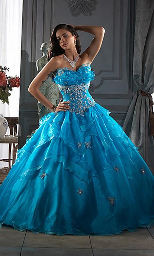 Blue Wedding Gown: Dark Blue And Navy Blue Wedding Dress Designs