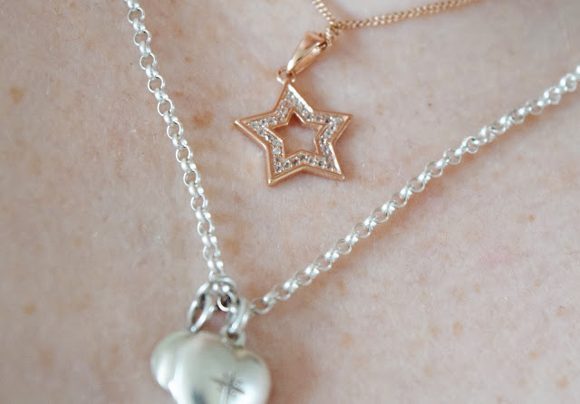silver rolo chain necklace