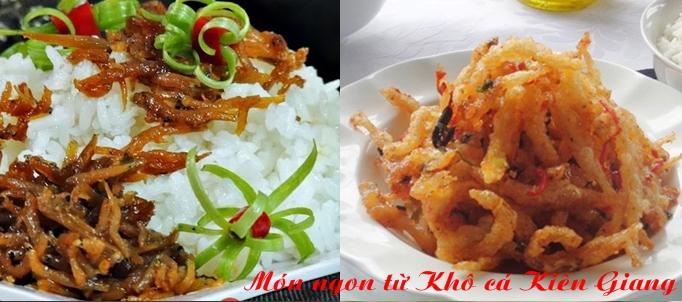 Khô cá cơm Kiên Giang