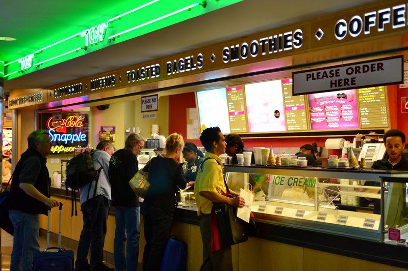 Tcby At Denver International Airport Fast Food Restaurants