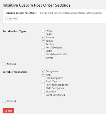 Rearrange/Reorder Forum, Forum Topic Display in Wordpress