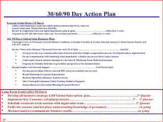 Best 30 60 90 Day Plan Template Free | Resume Business Template