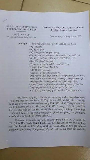 Hội cựu chiến binh tỉnh Nghệ An