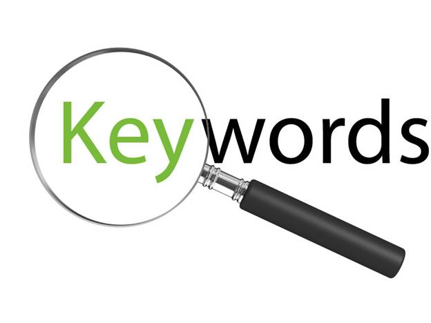 Choose keywords to build content