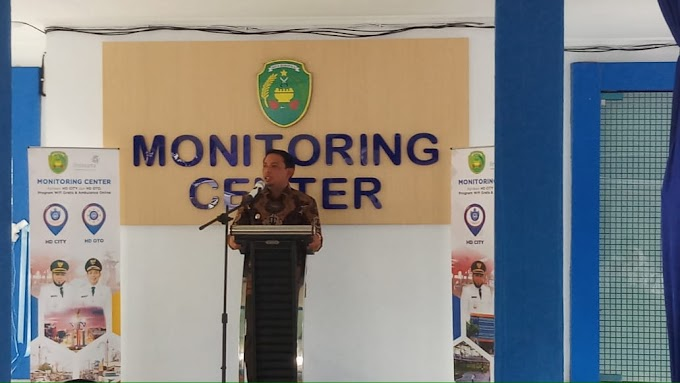 LAUNCHING MONITORING CENTER KOTA BENGKULU