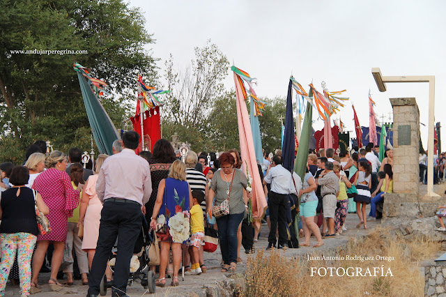 Cofradías y banderas Virgen de la Cabeza