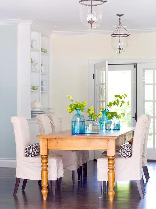 Ideas para centros de mesa para comedor for Centros de mesa para comedor