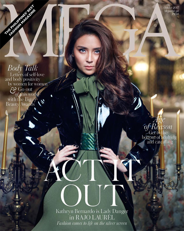 Kathryn Bernardo acts it out in latest Mega Magazine cover