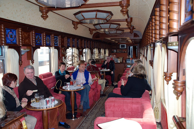 The Golden Eagle Luxury Trains