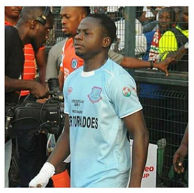 Bike Kills Nigerian Footballer 2 Months After His Wedding