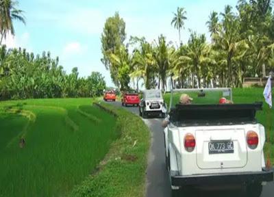 Tour dengan VW Safari di Ubud, Bali